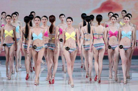 第十二届中国超级模特大赛总决赛在北京举行