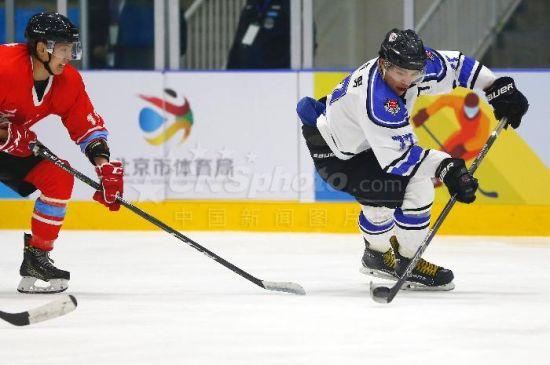 2018年全国冰球锦标赛在北京开幕