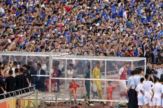 2017切尔西VS阿森纳伦敦超级德比杯在北京举行