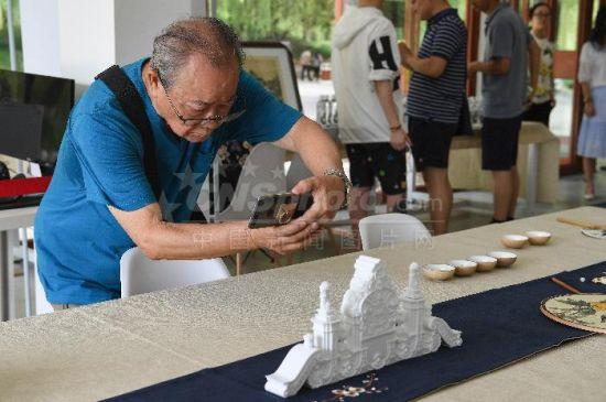 圆明园文创市集开幕 3D打印大水法首度亮相