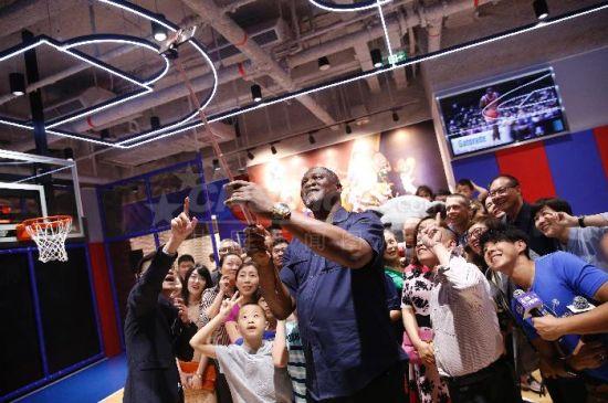 北京NBA乐园举行开幕式