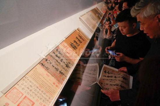 李白草书《上阳台帖》亮相张伯驹诞辰120周年纪念展