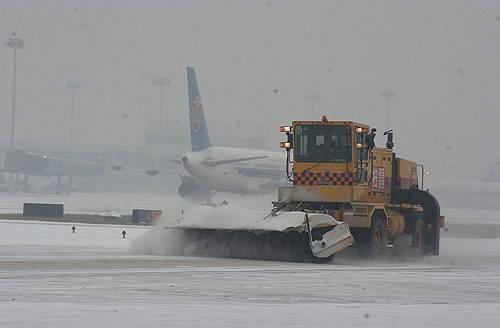 大雪造成北京全部航班延误