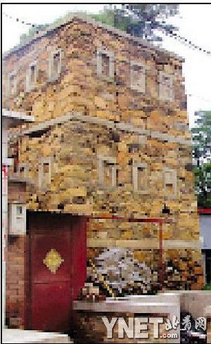 清朝建筑手绘图