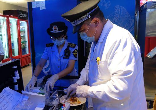 加大食品安全检查力度 2批次样品抽检不合格