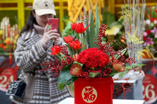 上千万盆年宵花投放北京市场 国外特色花卉集中亮相