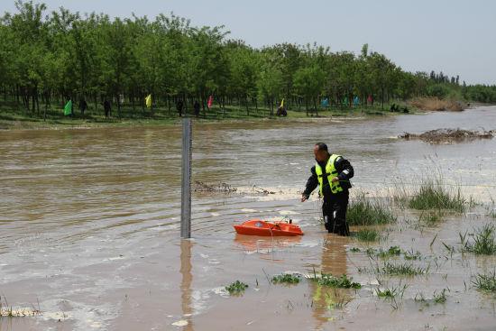 欧亿安全吗?永定河北京段今天下午全线通水