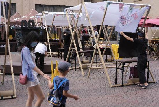 北京一周末露天市集取消举办